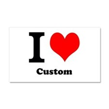 Custom Love Car Magnet 20 x 12