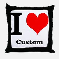 Custom Love Throw Pillow