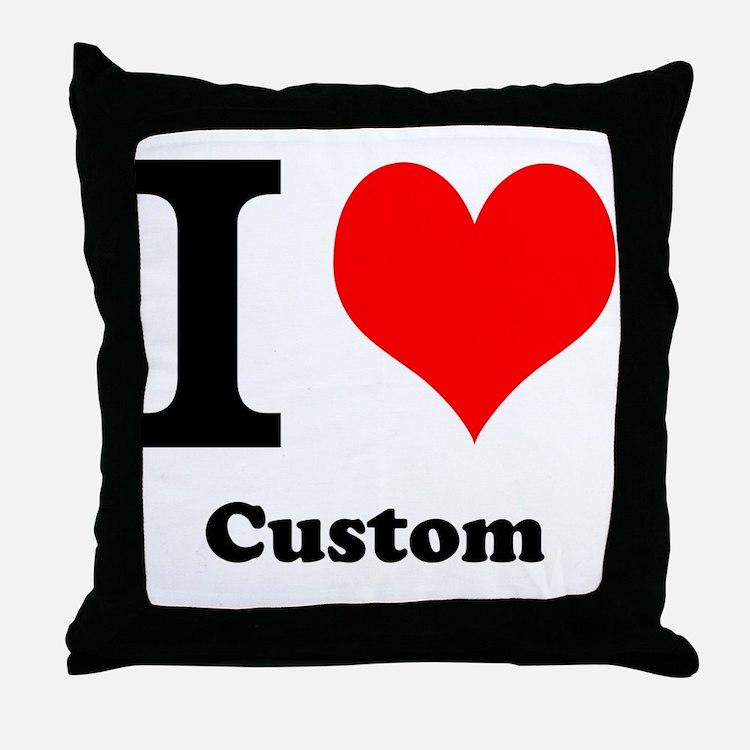 Throw Pillows Custom : Custom Love Pillows, Custom Love Throw Pillows & Decorative Couch Pillows