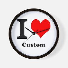 Custom Love Wall Clock