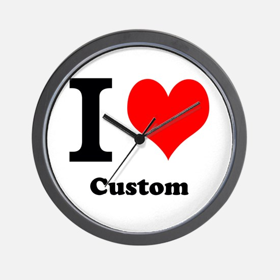 Custom Love Wall Clock