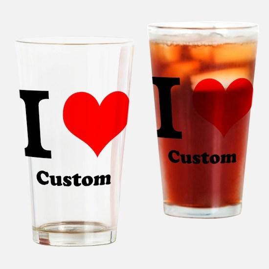 Custom Love Drinking Glass