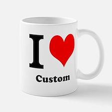 Custom Love Small Mugs
