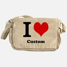 Custom Love Messenger Bag