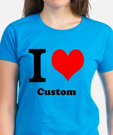 Custom Love Women's Dark T-Shirt