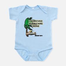 Survived Hurricane Irene Infant Bodysuit
