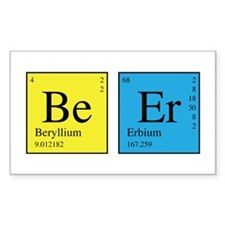 Periodic Beer Decal