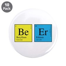 "Periodic Beer 3.5"" Button (10 pack)"