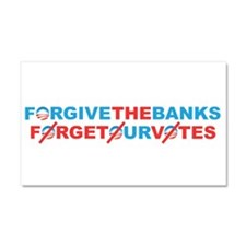 forgive_and_forget Car Magnet 20 x 12