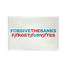 forgive_and_forget Rectangle Magnet