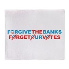 forgive_and_forget Throw Blanket