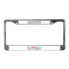 forgive_and_forget License Plate Frame