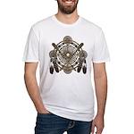 Dreamcatcher Medicine Wheel Fitted T-Shirt