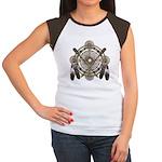 Dreamcatcher Medicine Wheel Women's Cap Sleeve T-S