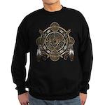 Dreamcatcher Medicine Wheel Sweatshirt (dark)