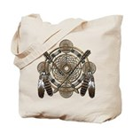 Dreamcatcher Medicine Wheel Tote Bag