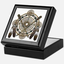 Dreamcatcher Medicine Wheel Keepsake Box