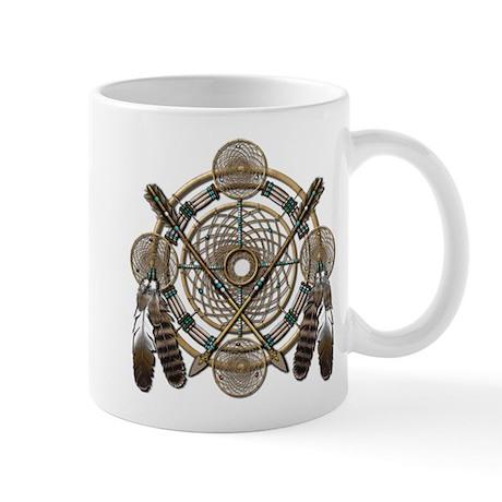 Dreamcatcher Medicine Wheel Mug