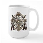 Dreamcatcher Medicine Wheel Large Mug