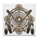 Dreamcatcher Medicine Wheel Tile Coaster