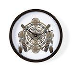 Dreamcatcher Medicine Wheel Wall Clock