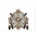 Dreamcatcher Medicine Wheel Postcards (Package of