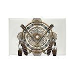 Dreamcatcher Medicine Wheel Rectangle Magnet (10 p