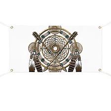 Dreamcatcher Medicine Wheel Banner