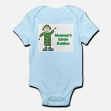 Mommy's Little Soldier Infant Creeper