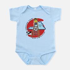 #2 I Survived Hurricane Irene Infant Bodysuit