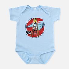 #3 I Survived Hurricane Irene Infant Bodysuit