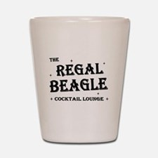 The Regal Beagle Shot Glass