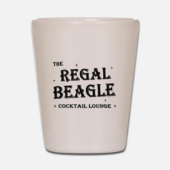 The Regal Beagle Shot Glass