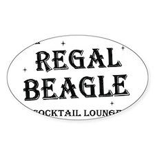 The Regal Beagle Decal