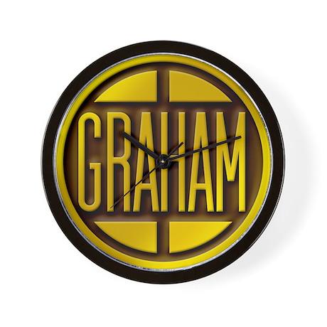 Graham Wall Clock