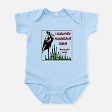 #6 I Survived Hurricane Irene Infant Bodysuit