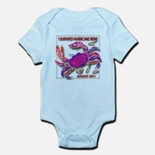 #7 I Survived Hurricane Irene Infant Bodysuit