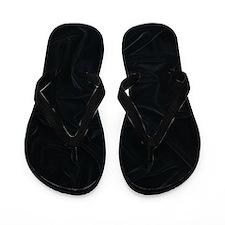 Flip Flops black velvet