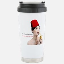 Monkey Grind Your Organ Travel Mug