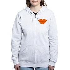 BIG ORANGE Kiss Zip Hoodie