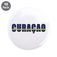 "Curaçao 3.5"" Button (10 pack)"