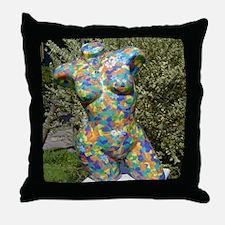 Art...Bit By Bit Throw Pillow