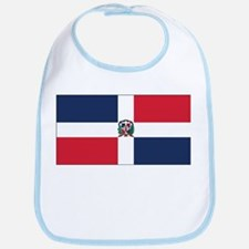 Dominican Naval Ensign Bib