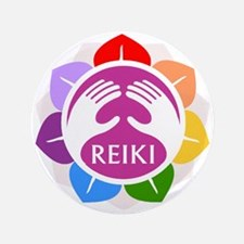 Lotus Reiki Button