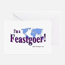 I'm a Feastgoer Greeting Cards (Pk of 10)