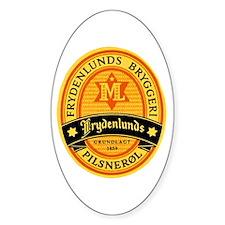 Norway Beer Label 2 Decal