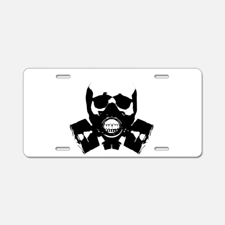 Art of War Aluminum License Plate
