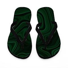 Flip Flops malachite photo texture