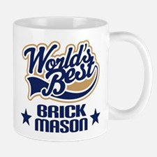 Brick Mason Gift (Worlds Best) Mug