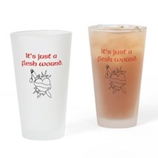 Cute Monty python holy grail Drinking Glass